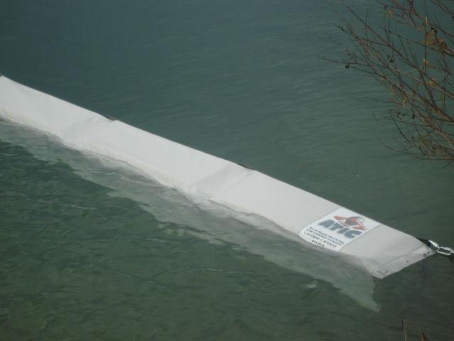 gabarit barrage blanc