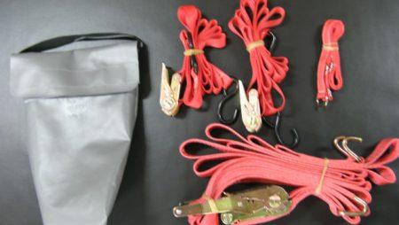 Sangles et claies de portage